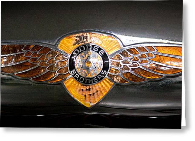 Collector Hood Ornament Greeting Cards - 1933 Dodge DP RS 2 Door Coupe Greeting Card by David Patterson
