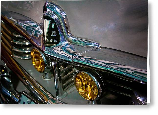 Car 47 Greeting Cards - 1947 Hudson Commodore 172 Greeting Card by David Patterson
