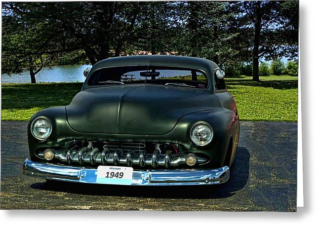 1949 Mercury Lead Sled Greeting Card by Tim McCullough