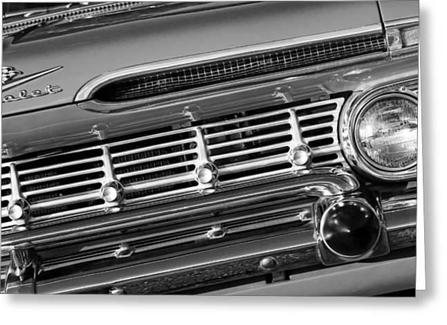 1950-1959 Greeting Cards - 1959 Chevrolet Impala Greeting Card by Gordon Dean II