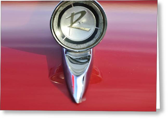 1961 Rambler Hood Ornament Greeting Card by Jill Reger