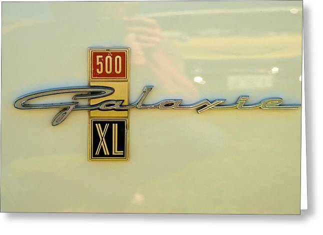 1963 Ford Greeting Cards - 1963 Ford Galaxie Greeting Card by Mark Dodd