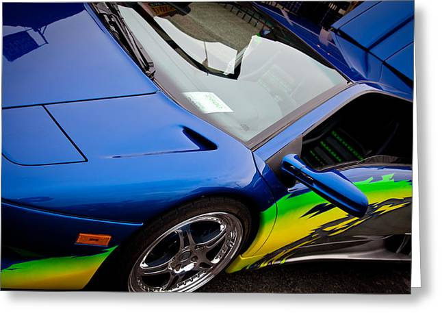 Mascots Greeting Cards - 1995 Lamborghini Diablo Greeting Card by David Patterson
