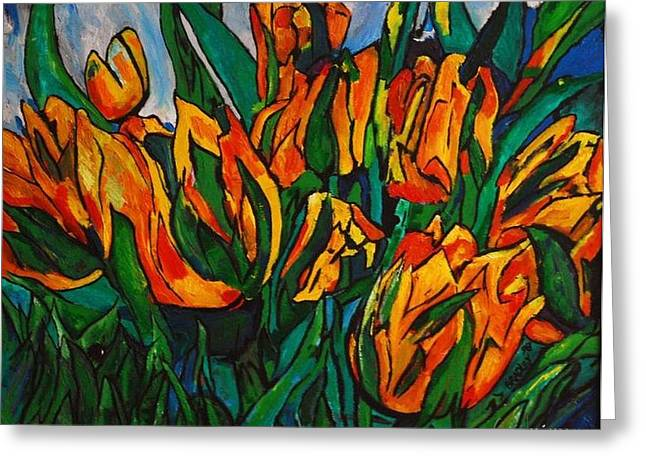 Tropical Photographs Paintings Greeting Cards - 2 Lips 96 Greeting Card by Bradley