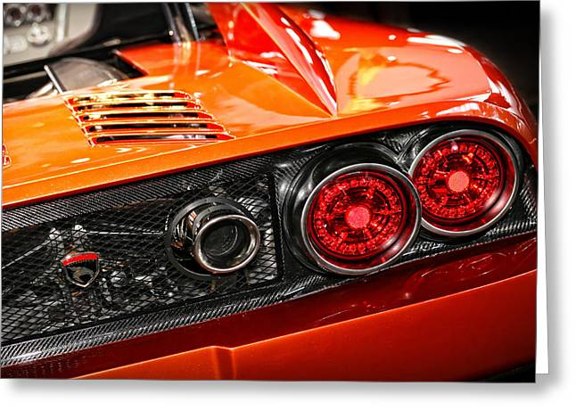 2012 Digital Art Greeting Cards - 2012 Falcon Motor Sports F7 Series 1  Greeting Card by Gordon Dean II