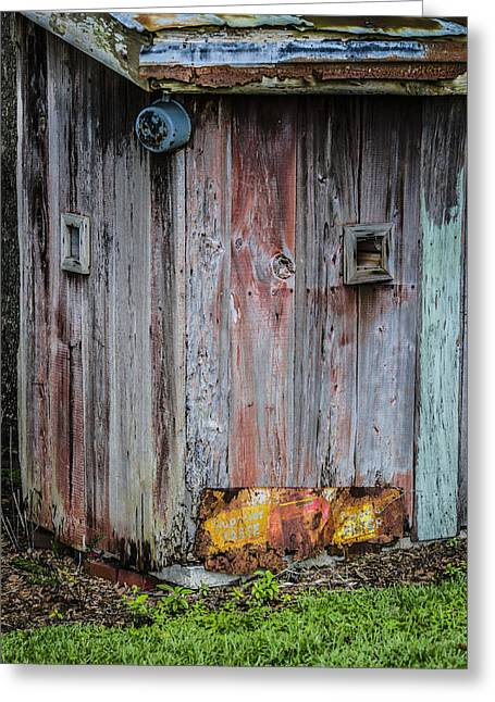 Outbuildings Greeting Cards - A Quiet Place Greeting Card by Carolyn Marshall