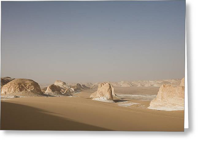 Middle Of Nowhere Greeting Cards - A View Of The Desert On A Sunny Day Greeting Card by Taylor S. Kennedy