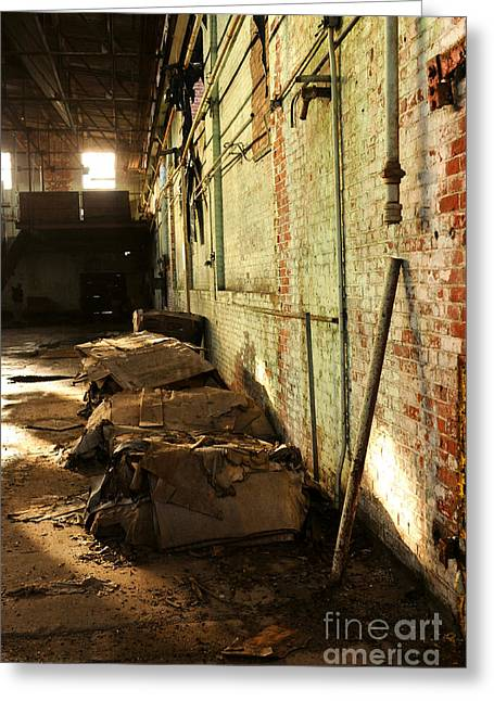 Factory Workers Greeting Cards - Abandoned Factory Greeting Card by HD Connelly