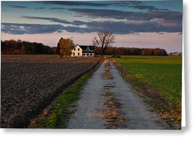 Ontario Greeting Cards - Abandoned Farm House Greeting Card by Cale Best