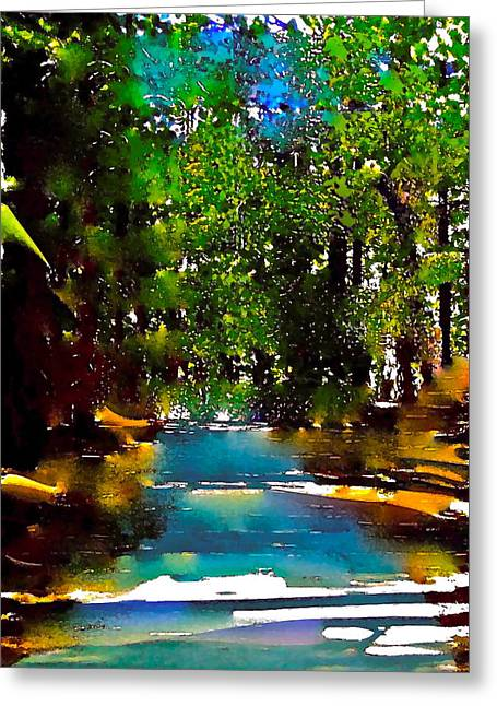 Pamela Cooper Greeting Cards - Abstract 43 Greeting Card by Pamela Cooper