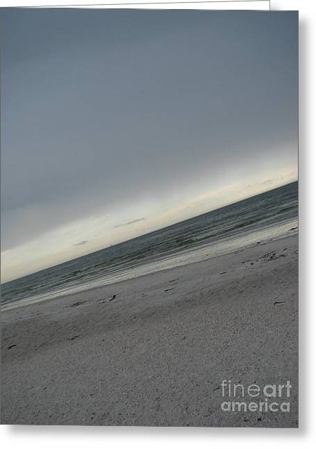 St Petersburg Florida Greeting Cards - Abstract Sea Greeting Card by Amanda Barcon