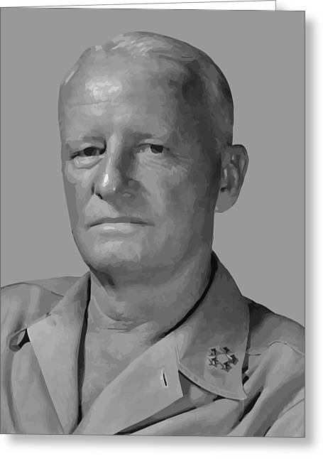 Pacific Greeting Cards - Admiral Chester Nimitz Greeting Card by War Is Hell Store