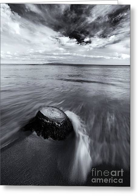 Lahaina Greeting Cards - Against the Tides Greeting Card by Mike  Dawson
