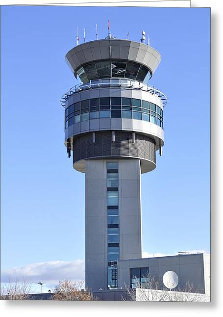 Best Sellers -  - Traffic Control Greeting Cards - Airport Control Tower. Greeting Card by Fernando Barozza