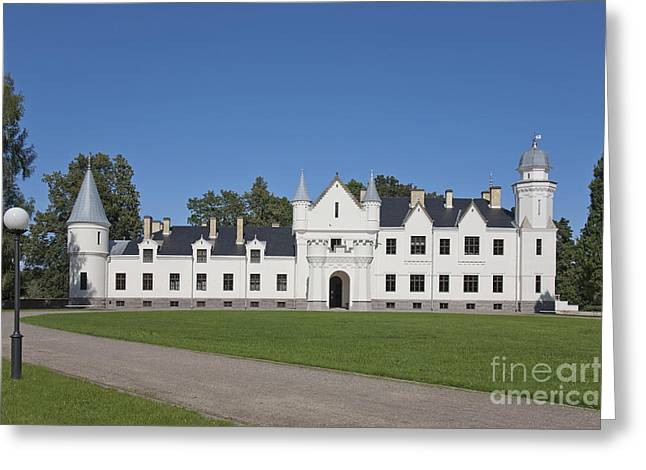 Front Yard Greeting Cards - Alatskivi Castle Exterior Greeting Card by Jaak Nilson