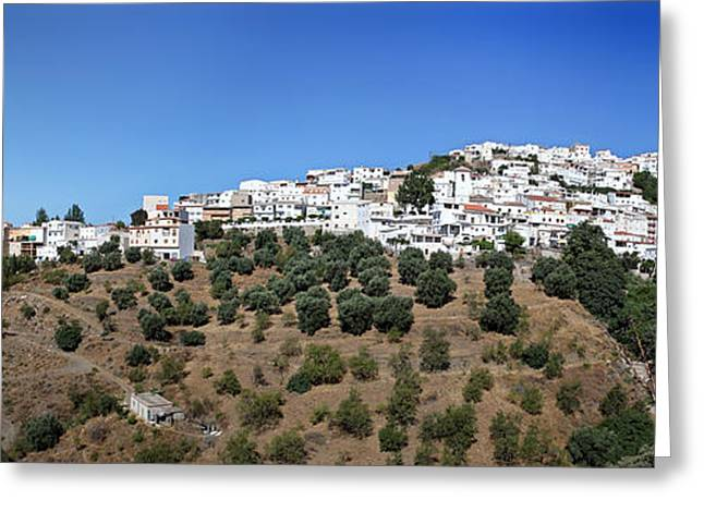 Albondon Pano Greeting Card by Jane Rix