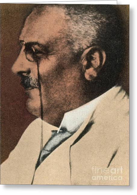 Description Greeting Cards - Alois Alzheimer, German Neuropathologist Greeting Card by Science Source