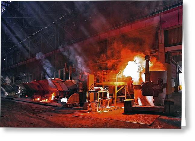 Aluminium Production Greeting Card by Ria Novosti