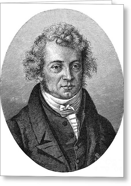 Amperes Greeting Cards - Andre Marie Ampere Greeting Card by Granger