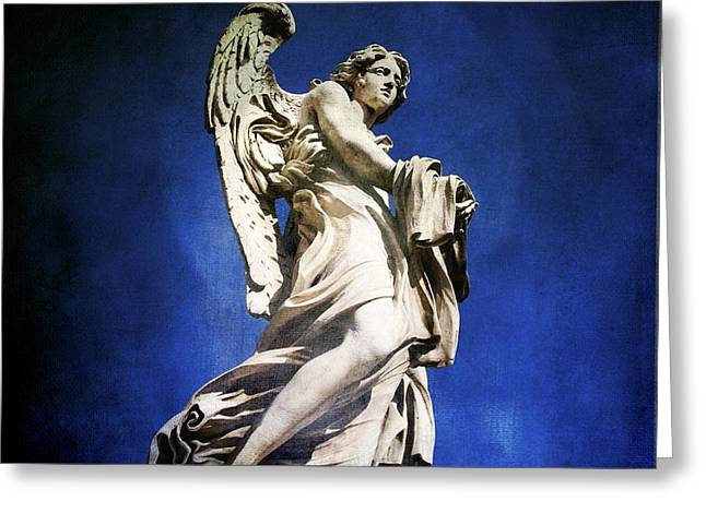 Castel Greeting Cards - Angelo Greeting Card by Bernard Jaubert