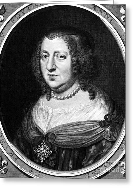 Queen Consort Greeting Cards - Anne Of Austria (1601-1666) Greeting Card by Granger