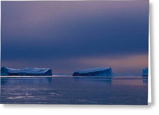 Division Greeting Cards - Antarctic Landscape 119 Greeting Card by David Barringhaus