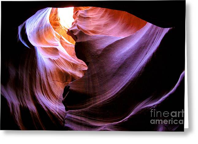 Slr Greeting Cards - Antelope Slot Canyons Greeting Card by Ryan Kelly