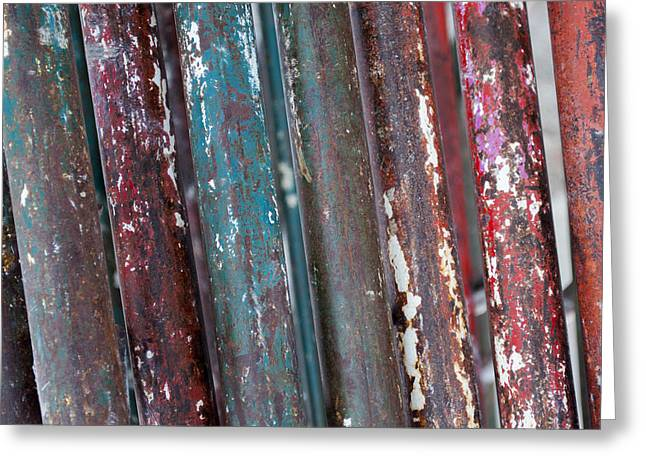 Rust Greeting Cards - Ap18 Greeting Card by Fran Riley