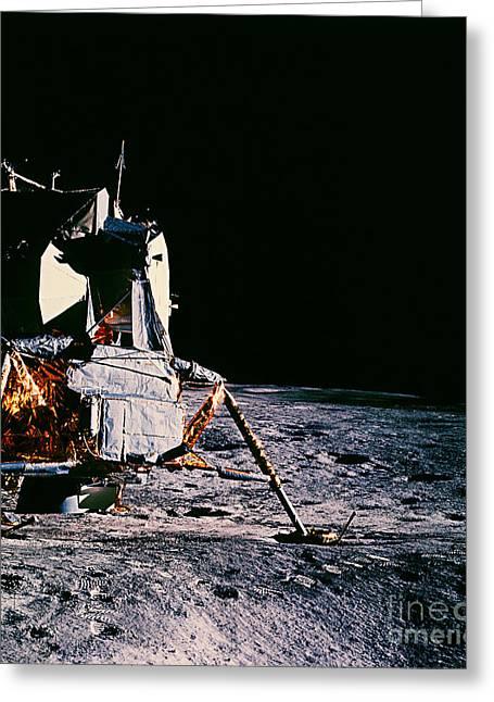 Apollo Program Greeting Cards - Apollo 14 Lunar Lander Greeting Card by Nasa