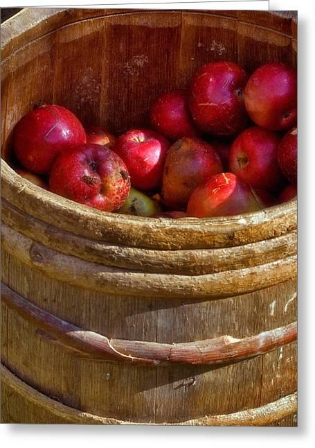 Apple Harvest Greeting Card by Joann Vitali