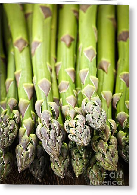Asparagus Greeting Card by Elena Elisseeva