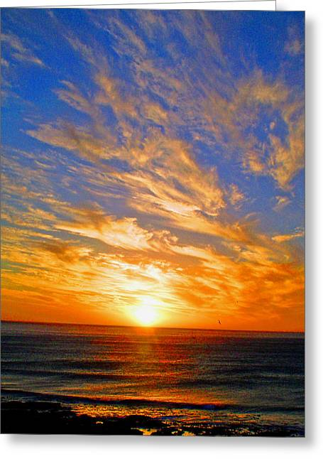At The End Of The Day Greeting Card by Michael Durst