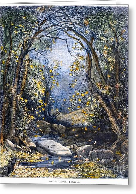 Jervis Greeting Cards - Autumn, 1873 Greeting Card by Granger
