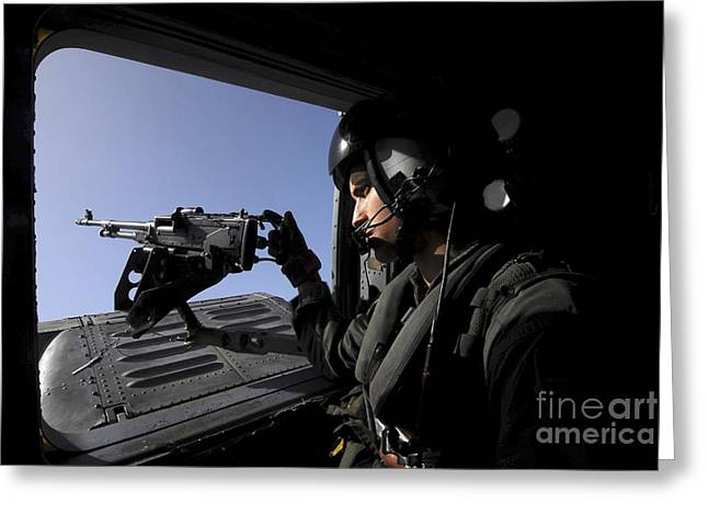 Aviation Warfare Systems Operator Greeting Card by Stocktrek Images