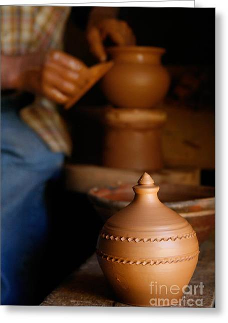 Ability Greeting Cards - Azores islands pottery Greeting Card by Gaspar Avila
