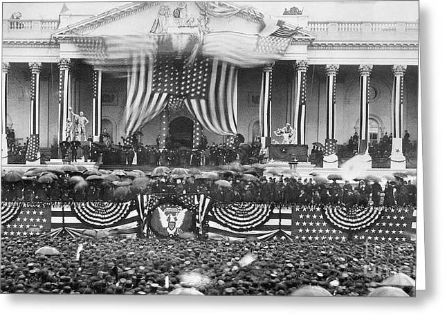 B. Harrison Inauguration Greeting Card by Granger