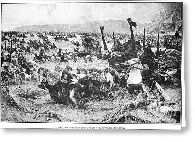 Balkan Insurgency, 1876 Greeting Card by Granger