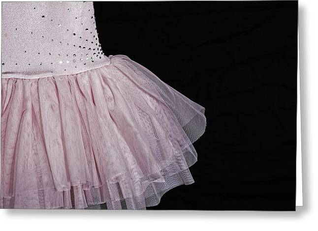 Rhinestone Greeting Cards - Ballet Dress Greeting Card by Joana Kruse