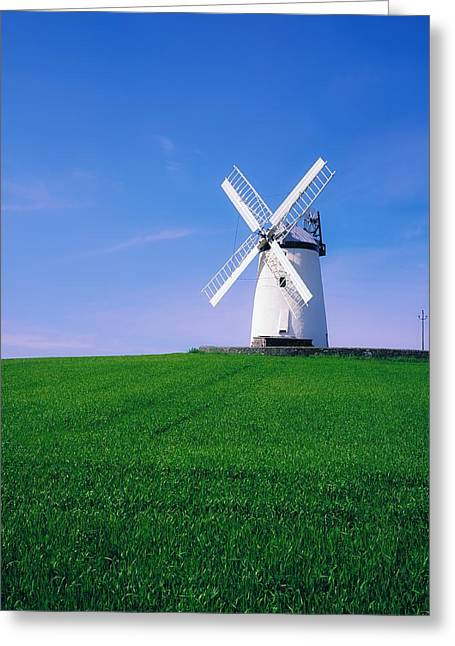 Concern Greeting Cards - Ballycopeland Windmill, Millisle Greeting Card by The Irish Image Collection