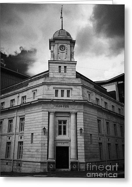 Ballymena Town Hall Now Part Of The Braid Museum And Arts Complex Ballymena  Greeting Card by Joe Fox