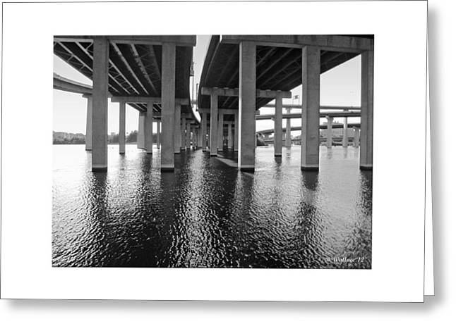 Baltimore By-pass Greeting Card by Brian Wallace