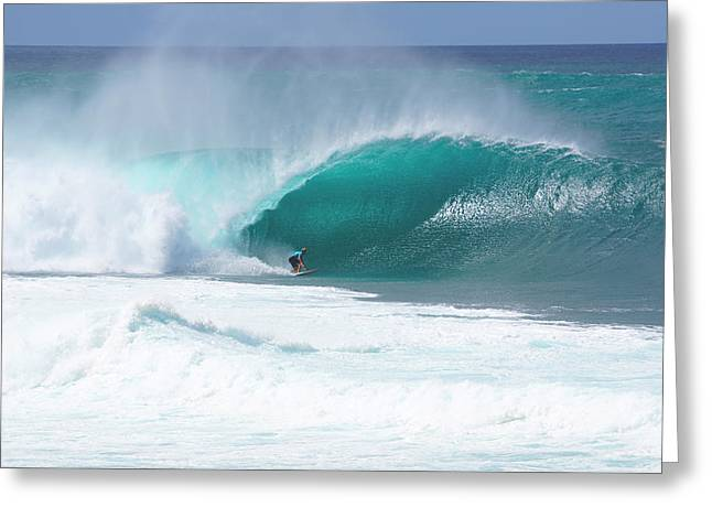 Banzai Pipeline Greeting Cards - Banzai Pipeline Pro Greeting Card by Kevin Smith