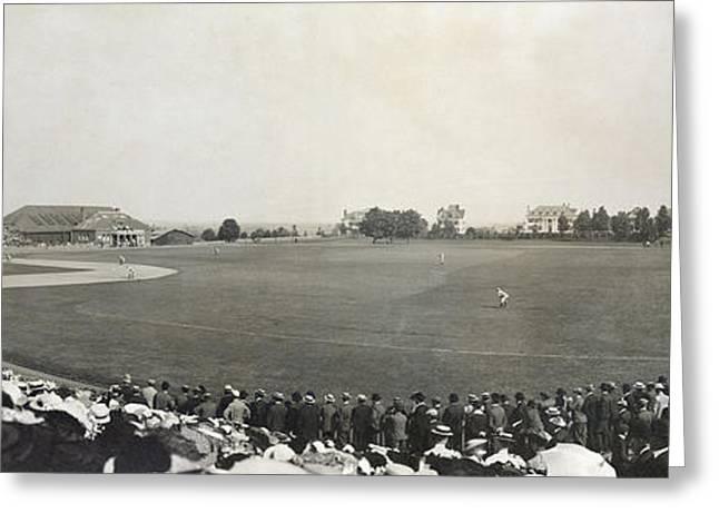 Baseball Game, 1904 Greeting Card by Granger