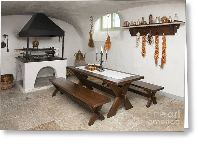 Basement Greeting Cards - Basement Kitchen Greeting Card by Jaak Nilson