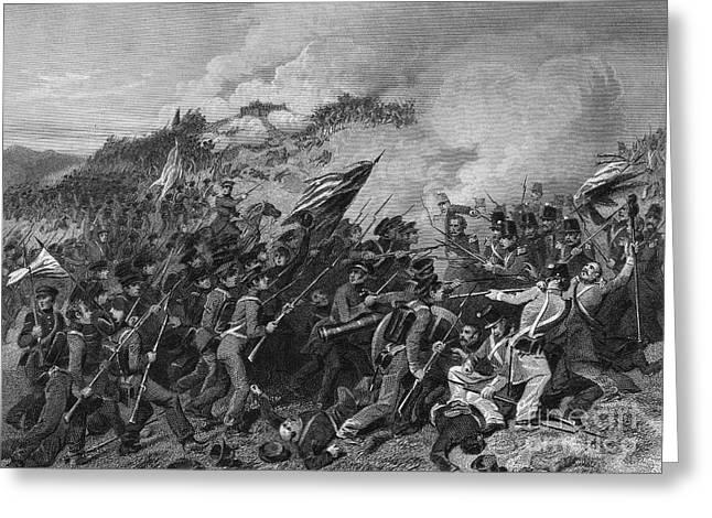 U.s Army Greeting Cards - Battle Of Cerro Gordo Greeting Card by Granger
