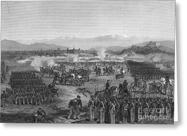 BATTLE OF MOLINO DEL REY Greeting Card by Granger