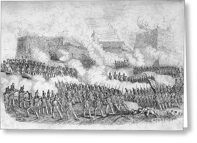 U.s Army Greeting Cards - Battle Of Monterrey, 1846 Greeting Card by Granger