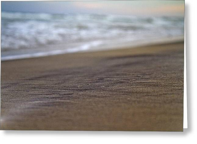 Neutral Colours Greeting Cards - Beach Greeting Card by Betsy C Knapp