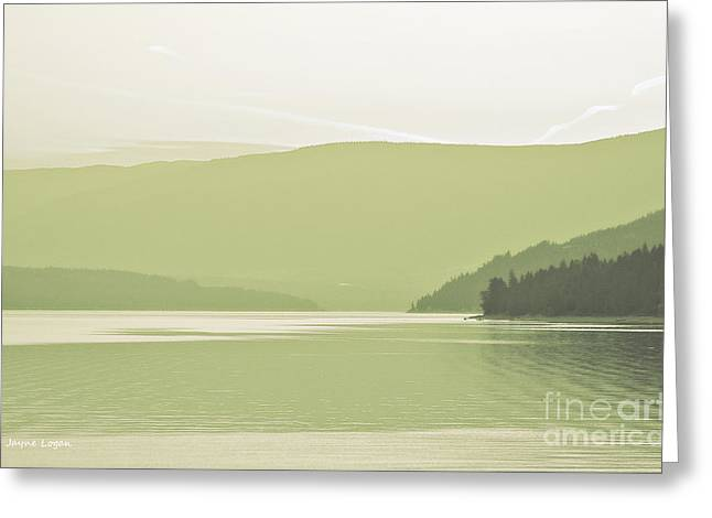 Artography Greeting Cards - Beautiful British Columbia Artographic Greeting Card by Jayne Logan Intveld