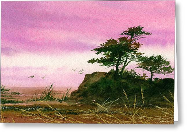 Landscape Framed Prints Greeting Cards - Beautiful Shore Greeting Card by James Williamson